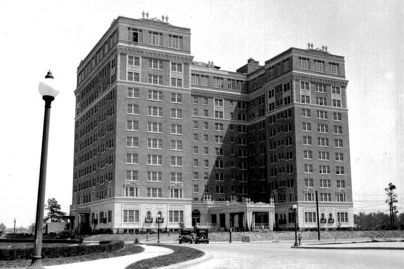 The Warwick Hotel, 1928